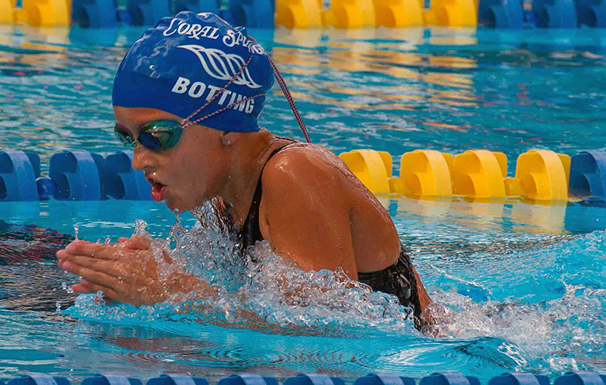 CSSC Swimmers Excel in the 50 Breast