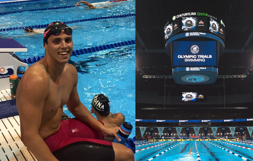 Evdokimov shines in his first US Olympic Trials